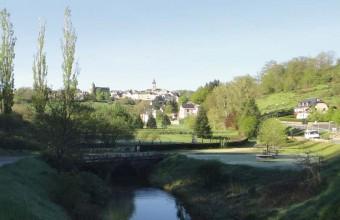 Les hauteurs offrent un beau point de vue sur l'ensemble du village.