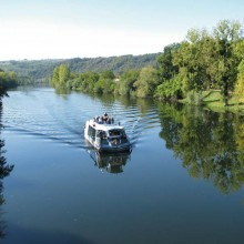 Une sortie originale sur le fleuve au rythme du clapotis de l'eau.