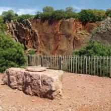 Classée réserve naturelle, la carrière abrite de fabuleux spécimens fossilisés.