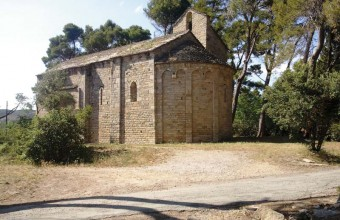 La chapelle Saint-Germain est l'ancienne église d'un village disparu.