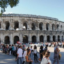 Depuis le Ier siècle, ces arènes sont le théâtre d'importants événements.