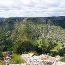 Le cirque de Navacelles, un espace naturel protégé qui abrite une faune et flore rares.