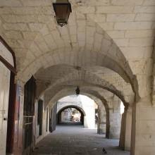 L'hôtel de Bernis construit en lieu et place de l'ancienne synagogue.