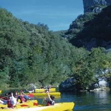 Les gorges de l'Hérault s'étirent sur 150 kilomètres le long de la vallée.
