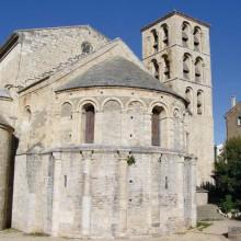 Le chevet de cette abbaye romane est l'un des plus beaux du Midi de la France.