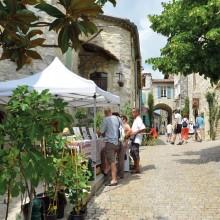 L'économie du village a longtemps reposé sur le séchage de la figue.