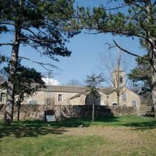 Pour atteindre le sanctuaire Notre-Dame-de-Trédos, le chemin parcourt 14 km.