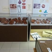 Des poteries sigillées retrouvées dans l'Europe entière sont exposées au petit musée.