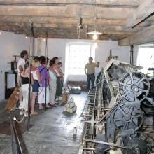 Toutes les machines abritées dans cette ancienne fabrique fonctionnent encore, comme la Mull Jenny, joyau du musée.
