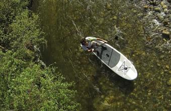 Riverside Paddle propose initiations et randonnées sur les rivières du Tech et de la Têt.