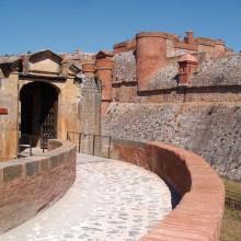 La forteresse de Salses est l'exemple le plus abouti d'édification militaire.