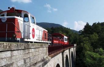 Cette ligne ferroviaire est l'une des plus pittoresques de France.