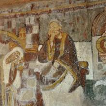 L'abside de l'église offre un merveilleux panorama de couleurs.