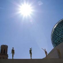 C'est ici, au cœur de Figuères, que se trouve l'extravagant musée consacré à Salvador Dalí.