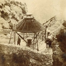 A Sorède que le «Padre Himalaya» installa le tout premier four solaire au monde.