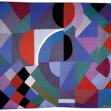 Une composition originale de Sonia Delaunay.