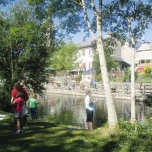Il existe un permis de pêche spécial enfants ou à durée limitée.
