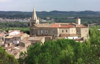Bâti sur les fondations d'un castrum romain, le château féodal abrite la mairie du village depuis 1861.