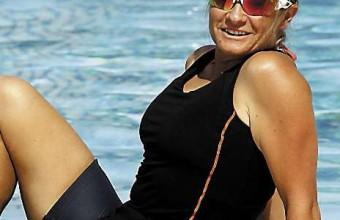 Elsa Roméro a pu trouver à Saint-Cyprien tous les équipements nécessaires à sa passion, le triathlon, et les insfrastructures où réaliser son métier d'entraîneur et de maître nageur sauveteur.